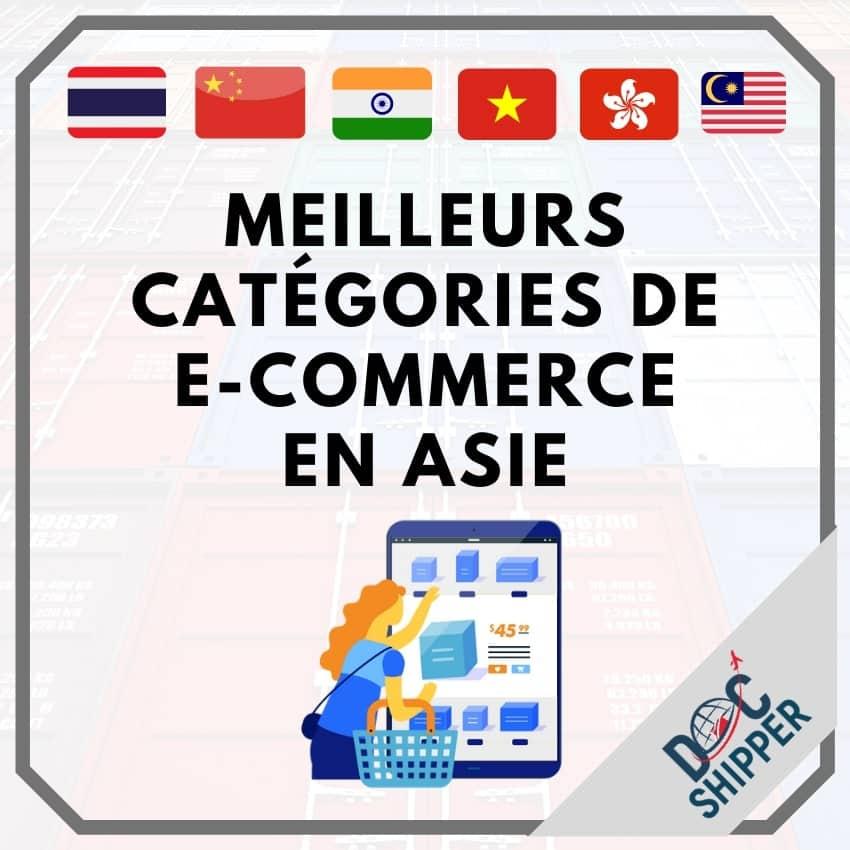 meilleurs categories e-commerce asie