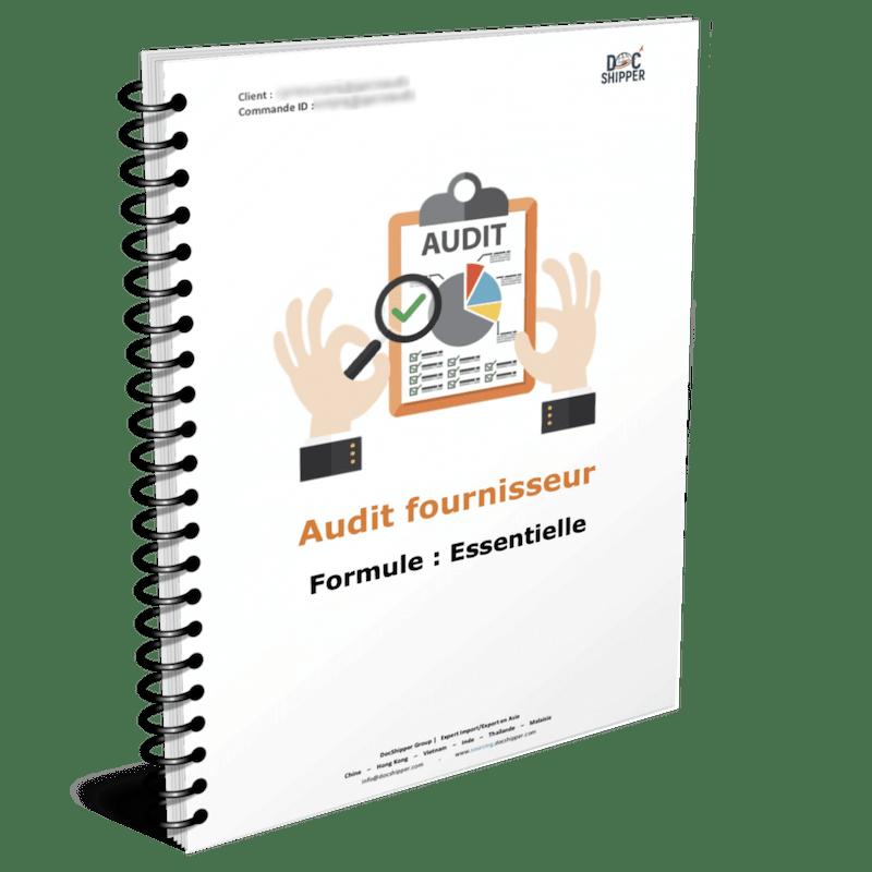 Audit fournisseur asie - essentielle