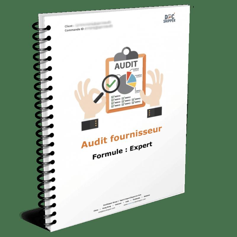 Audit fournisseur asie - expert