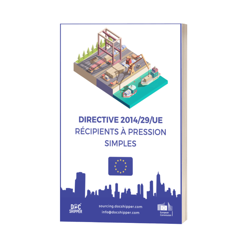 DIRECTIVE 2014-29-UE - Récipients à pression simples