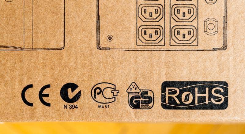 ROHS carton normes