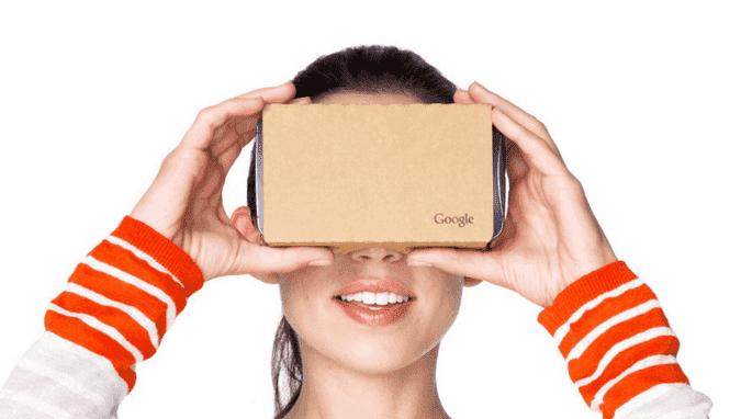 google-cardboard casque realite virtuelle