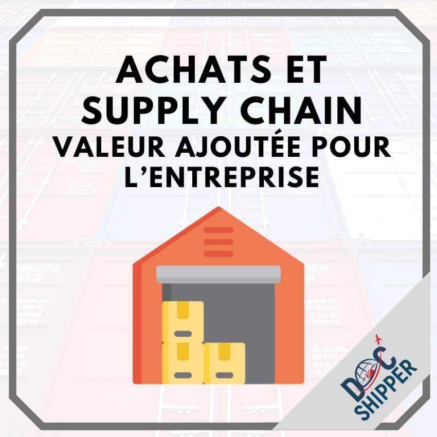 Achats et Supply Chain