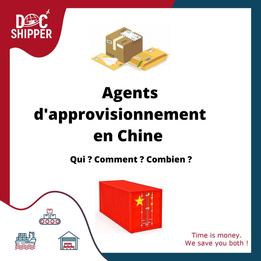 Agents d'approvisionnement en Chine