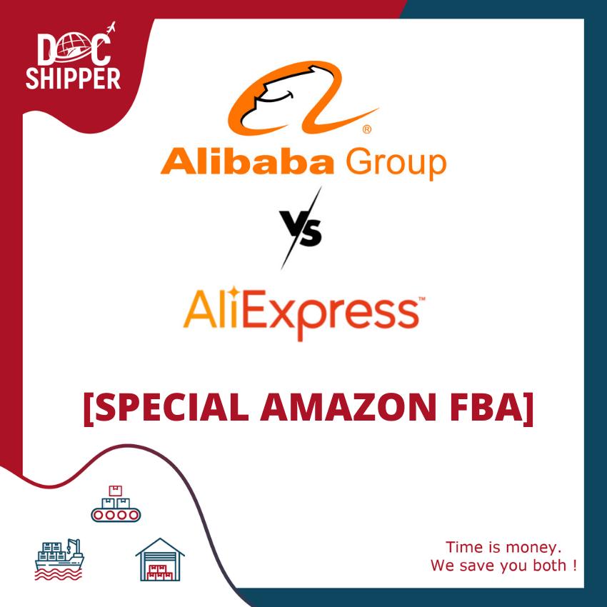 Alibaba Vs. AliExpress [SPECIAL AMAZON FBA]