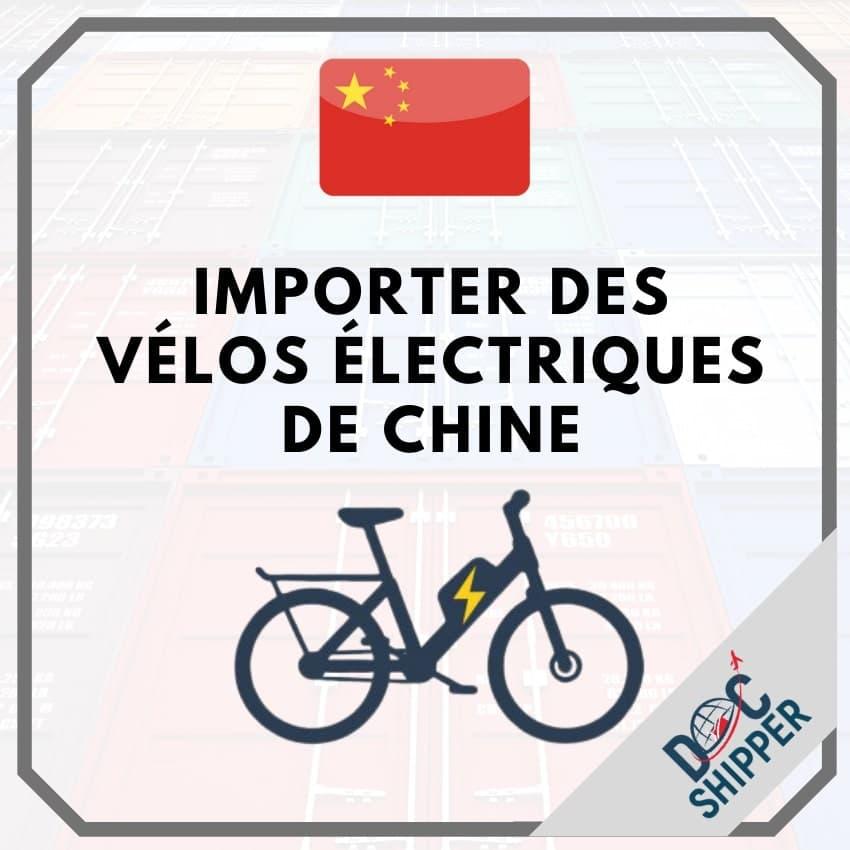 Importer des vélos électriques