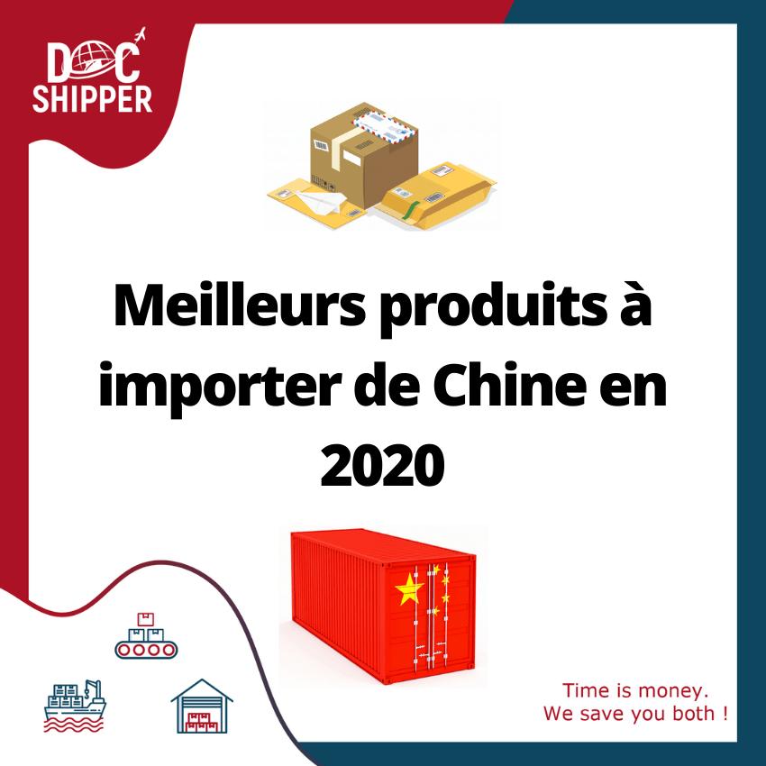 Meilleures produits à importer de Chine
