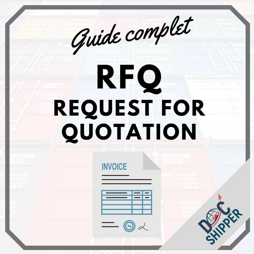 RFQ request for quotation guide complet