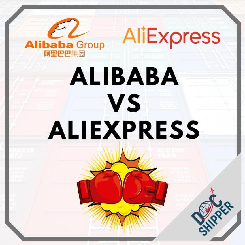 acheter Alibaba vs aliexpress