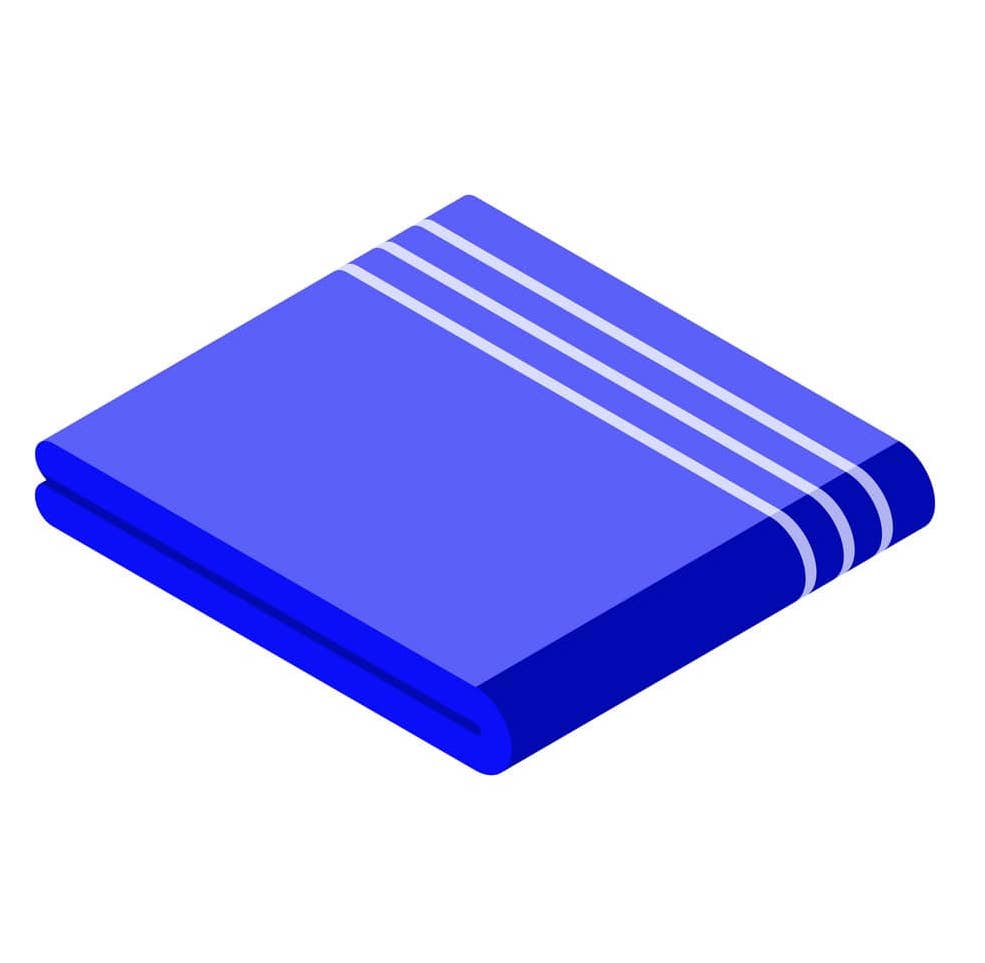 cover-blanket-icon-isometric-style-vector
