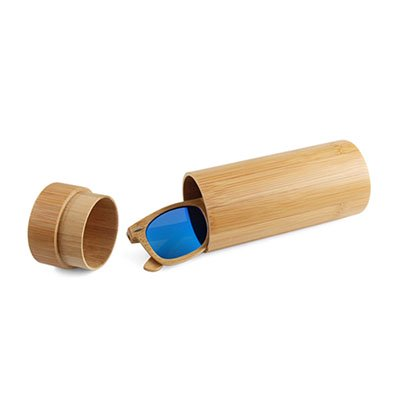 etui lunettes bamboo