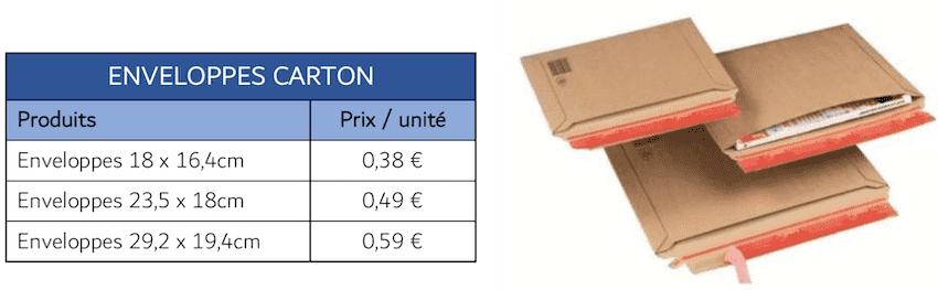 materiel emballage carton 3PL