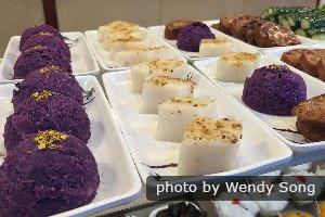 Les pâtisseries d'Hong Kong