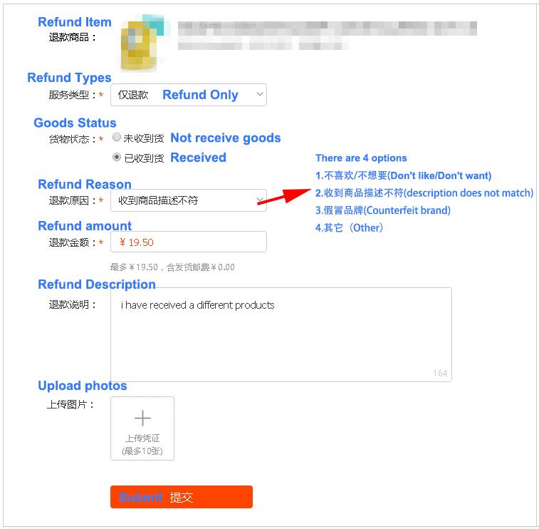 Bien recus sur Taobao et Tmall