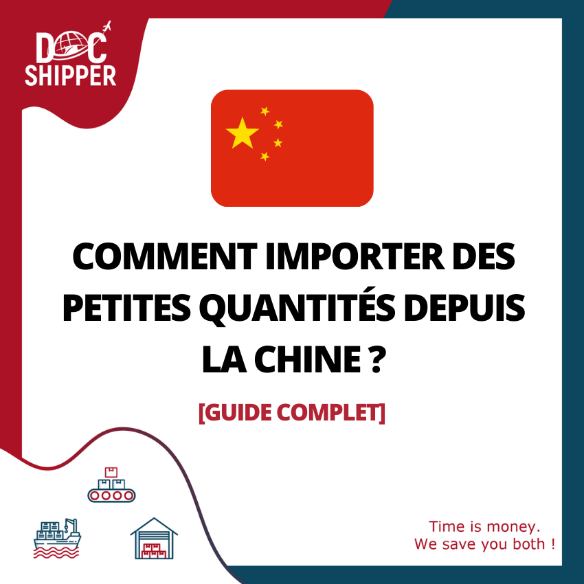 COMMENT IMPORTER DES PETITES QUANTITÉS DEPUIS LA CHINE