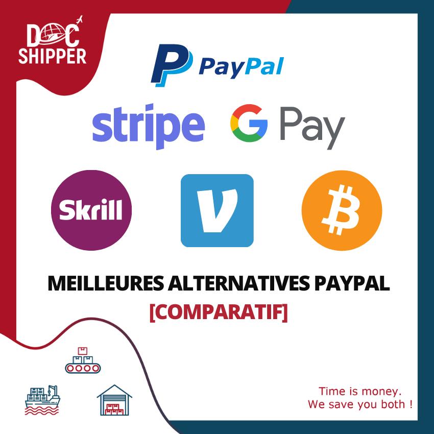 Meilleures Alternatives PayPal [COMPARATIF]