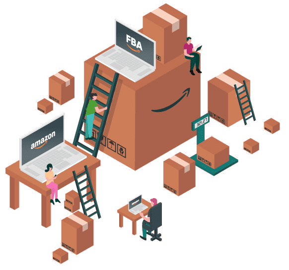 amazon FBA isometric