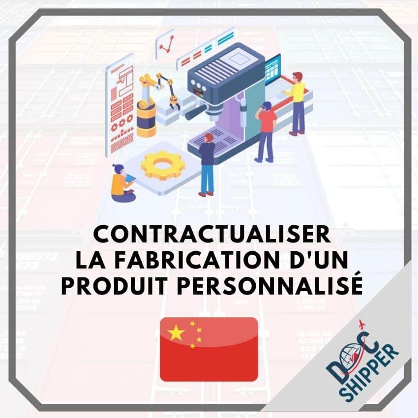 contrat fabrication d'un produit personnalisé