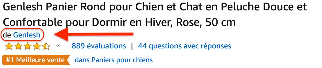 top vendeur Amazon