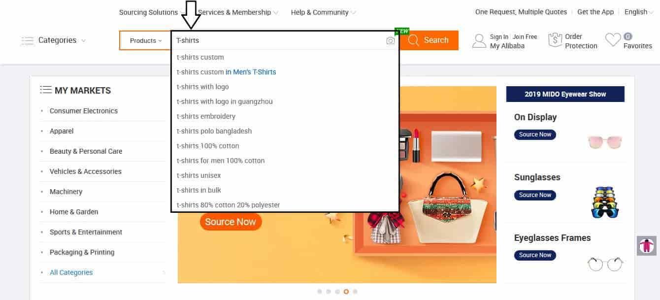 Alibaba-recherche