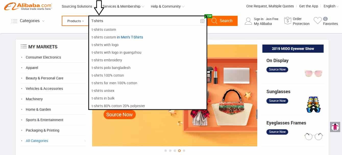Alibaba recherche