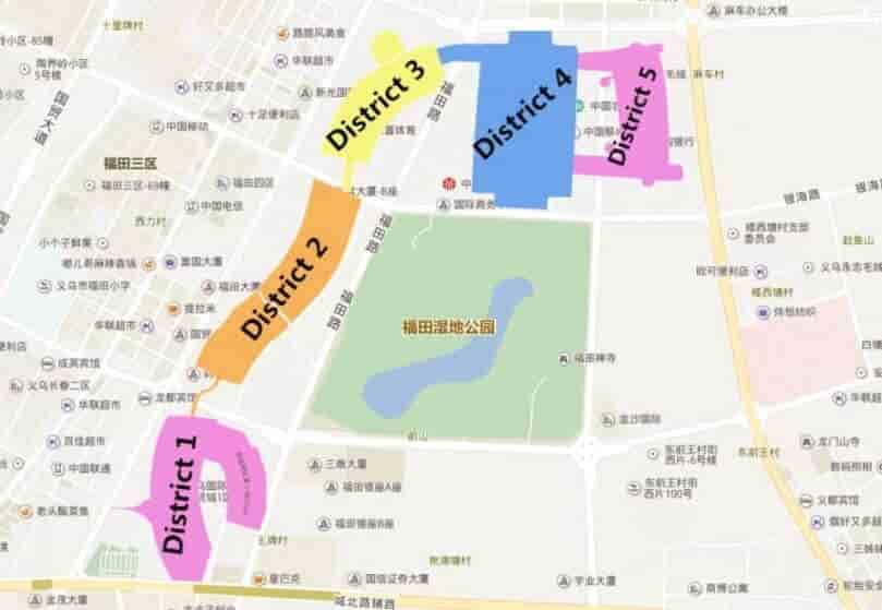 Yiwu-Market-carte-district.