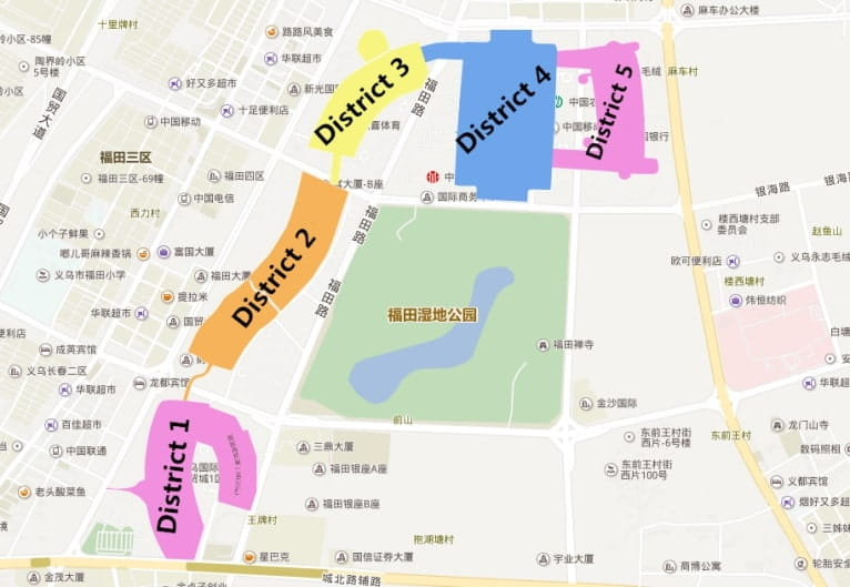 Yiwu-Market-carte district