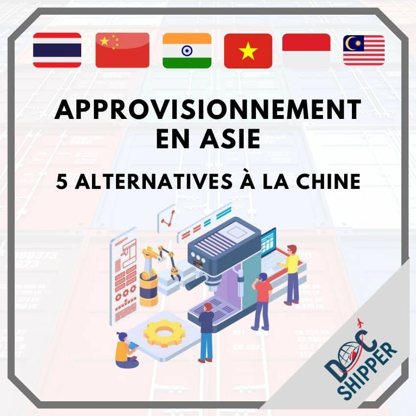alternatives approvisionnement chine