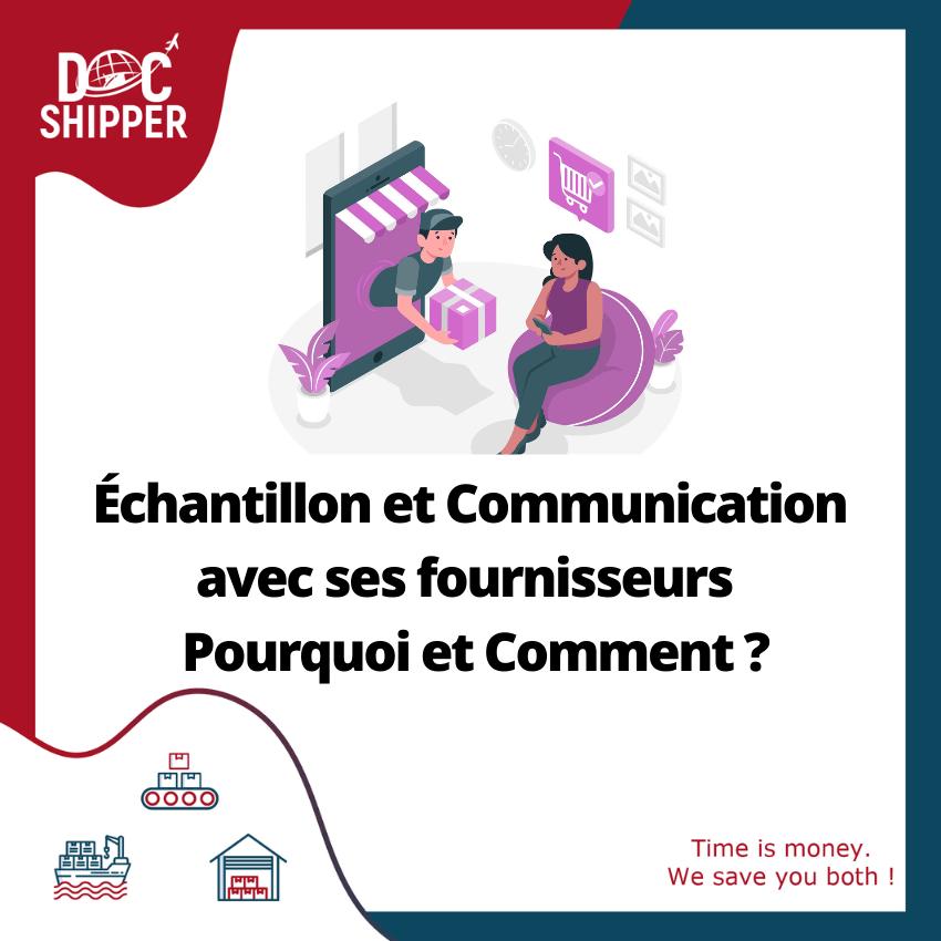Échantillon-Communication-fournisseurs
