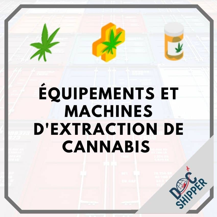 Équipements et machines d'extraction de Cannabis