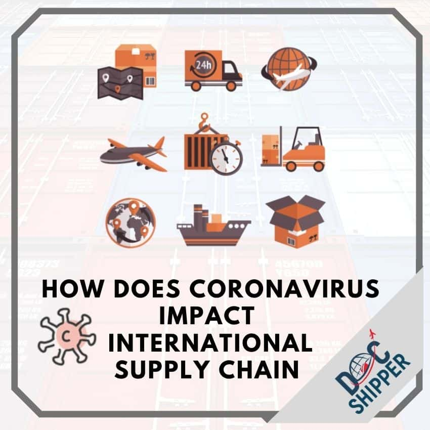 how does coronavirus impact international supply chain