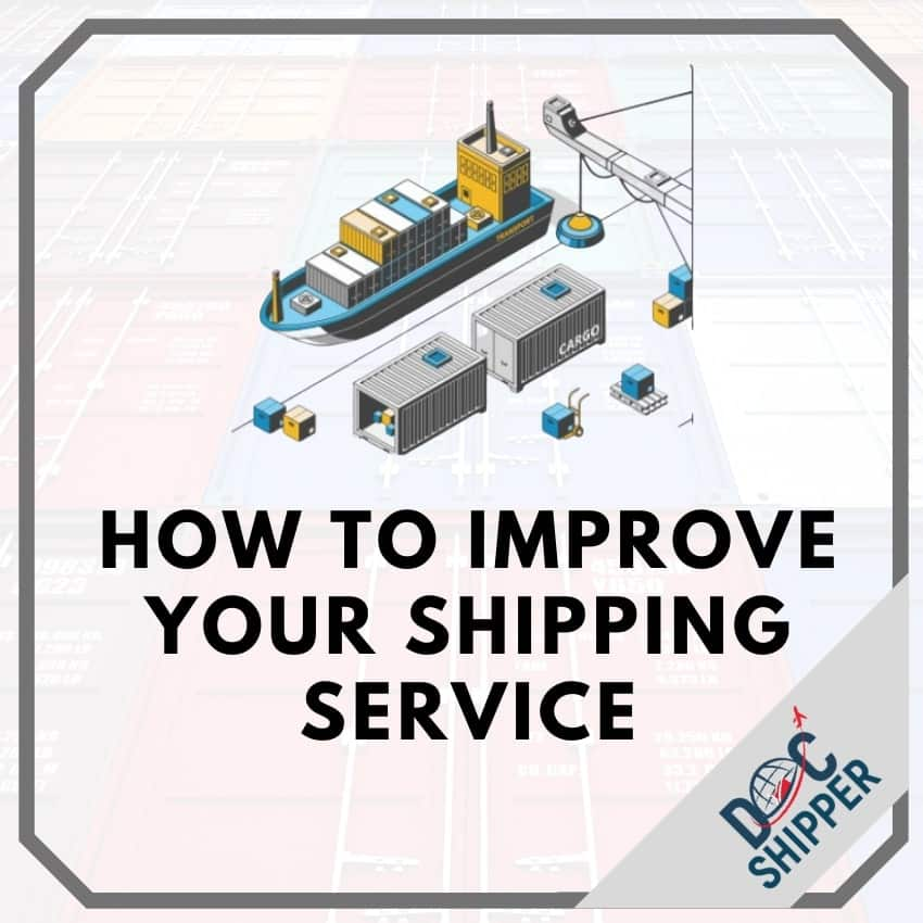 how to improve your shipping?