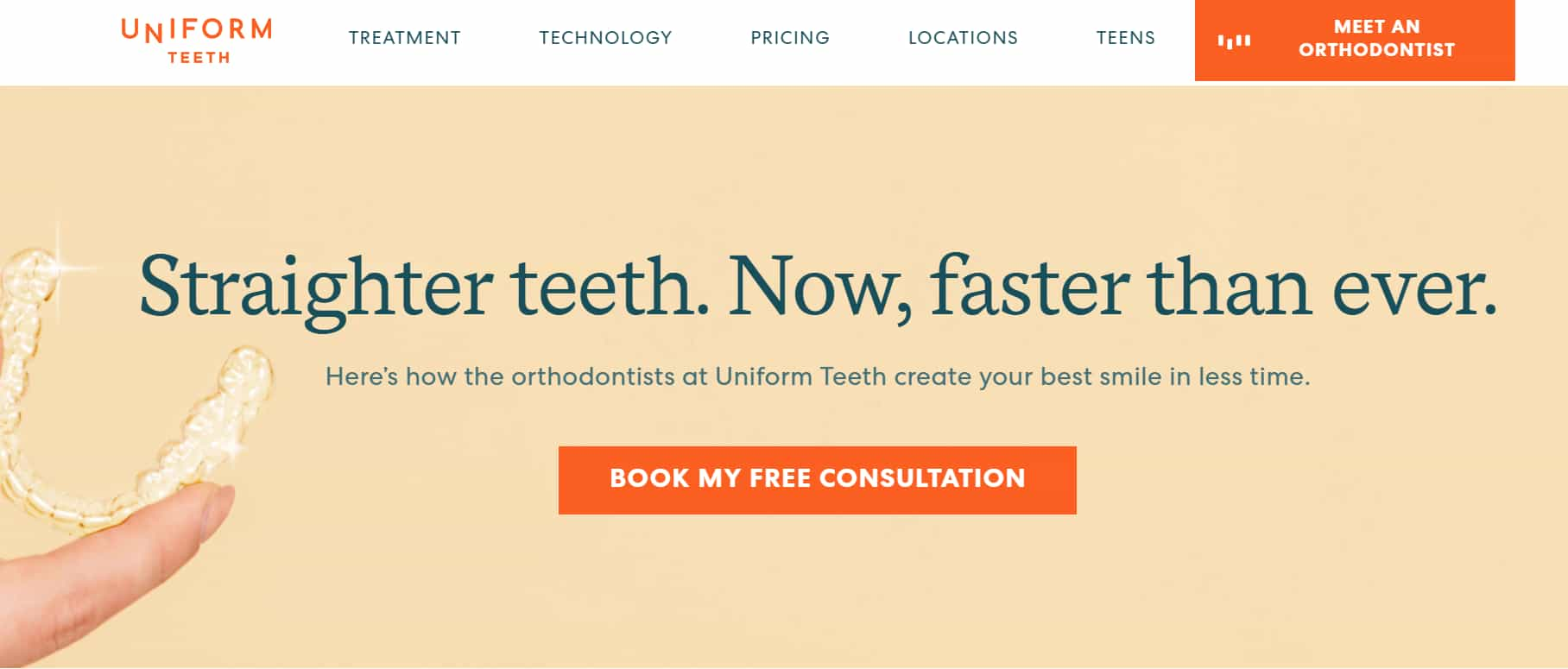 uniform teeth-orthodontic startup