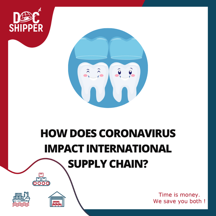 HOW DOES CORONAVIRUS IMPACT INTERNATIONAL SUPPLY CHAIN