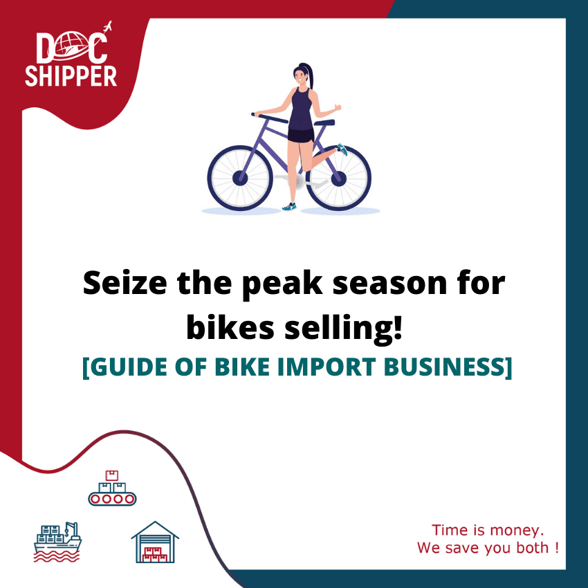 Seize the peak season for bikes selling! [GUIDE OF BIKE IMPORT BUSINESS]