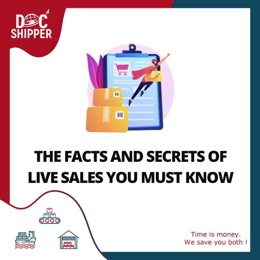 FACTS AND SECRETS OF LIVE SALES YOU MUST KNOW