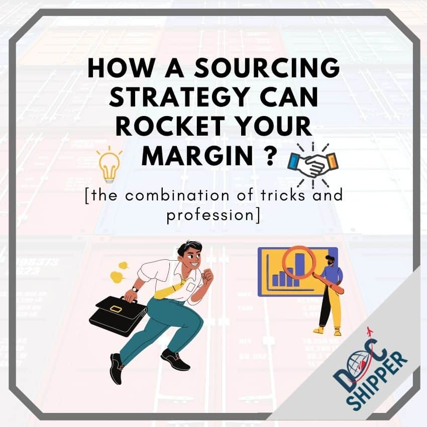 increase margins by adjusting sourcing strategies