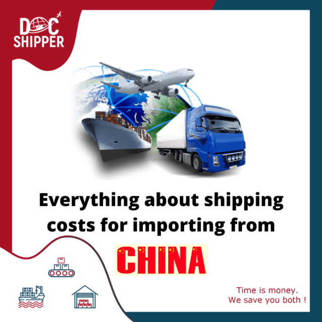 Everything about shipping costs importing China