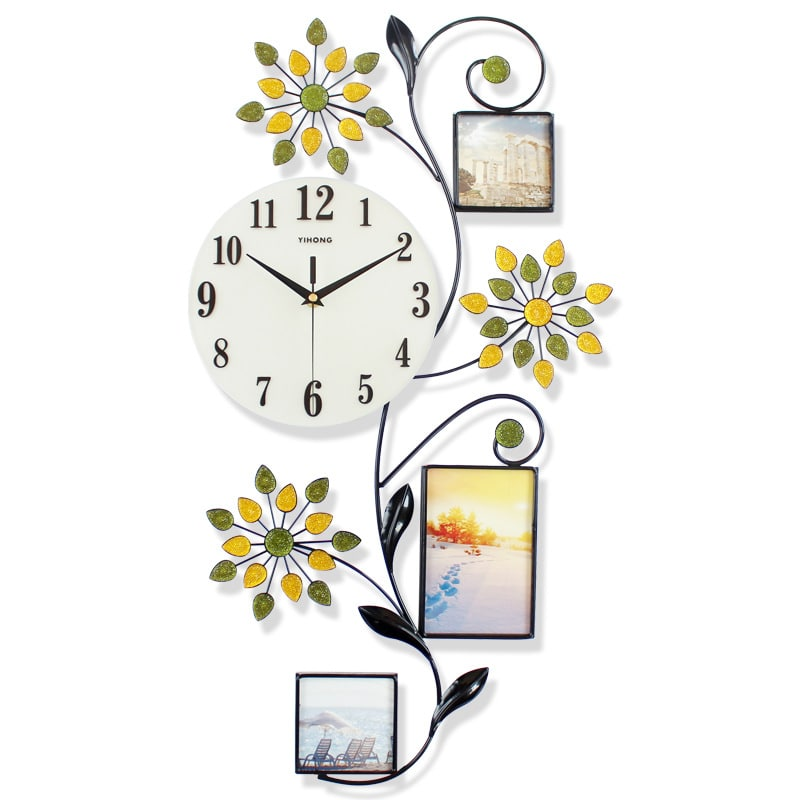 Photo frame wall clock CTGYP