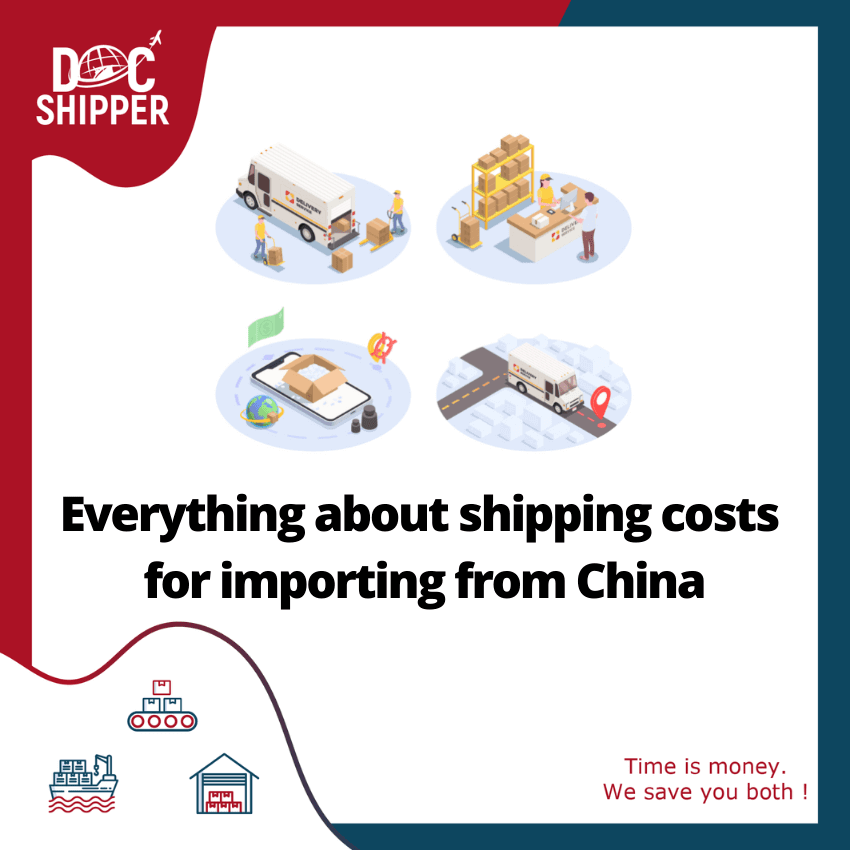 everything about shipping costs for importing from china