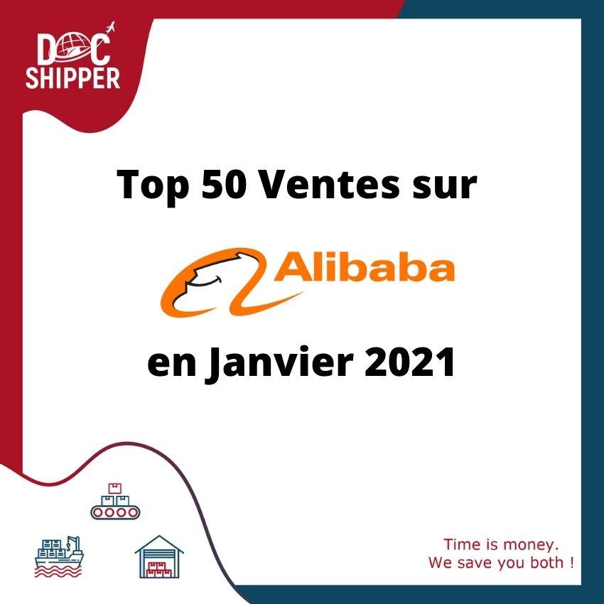 Top 50 Alibaba Janvier