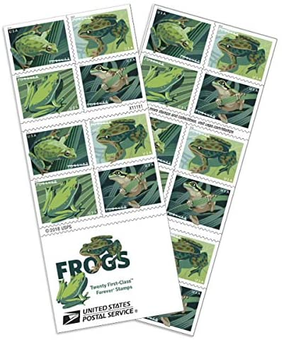 Frogs Forever Timbres de poste
