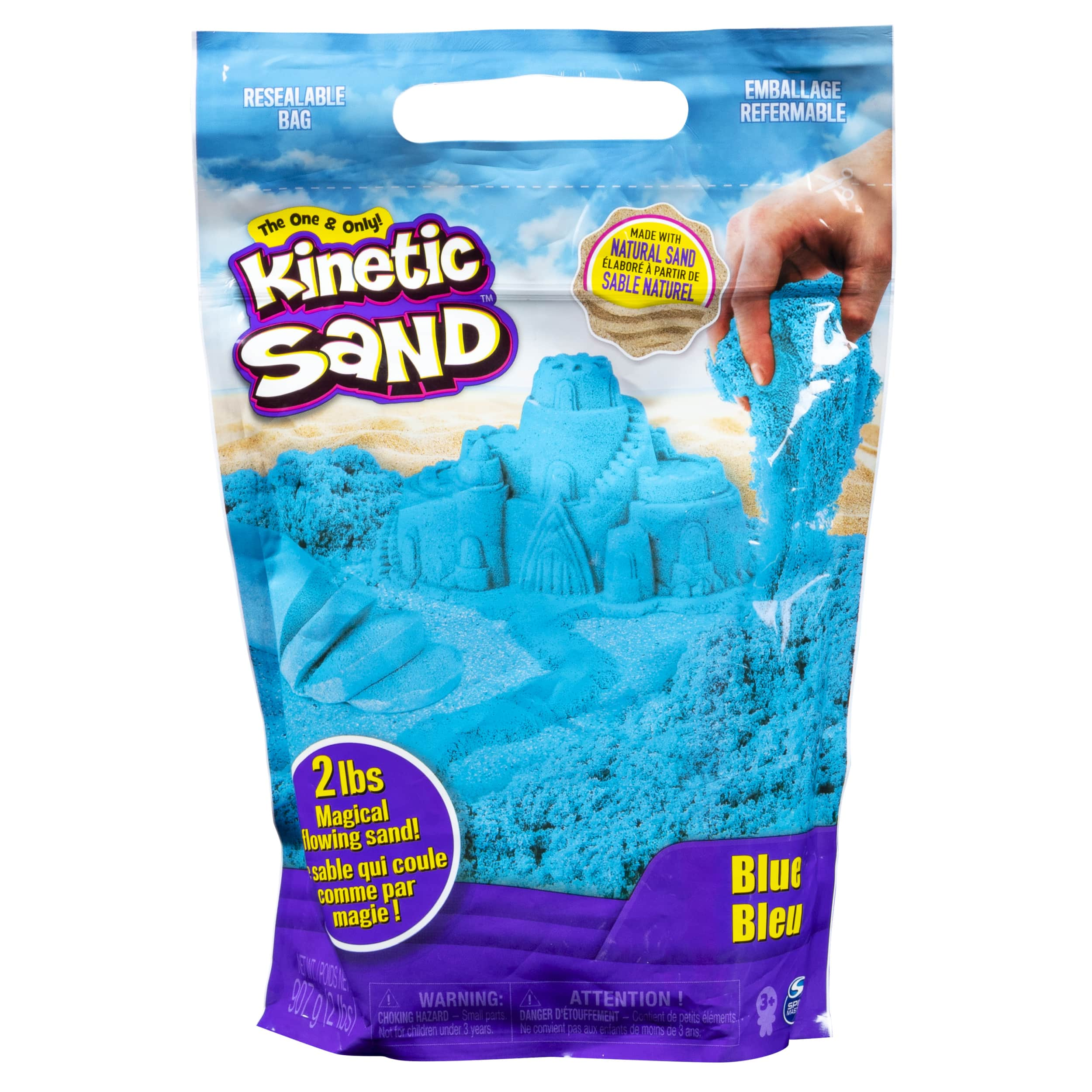 Sable de jeu Kinetic Sand