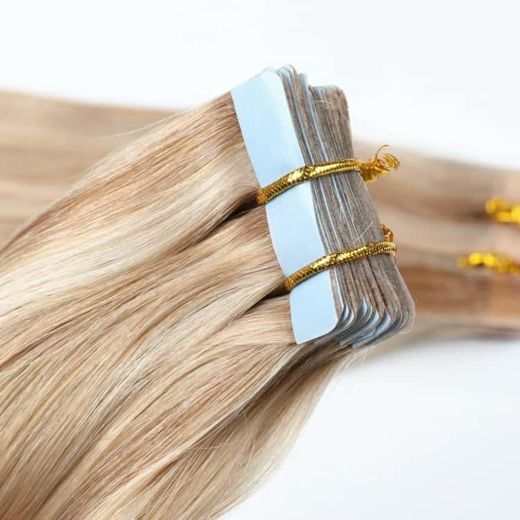 Bandes adhésives d'extension de cheveux BZ