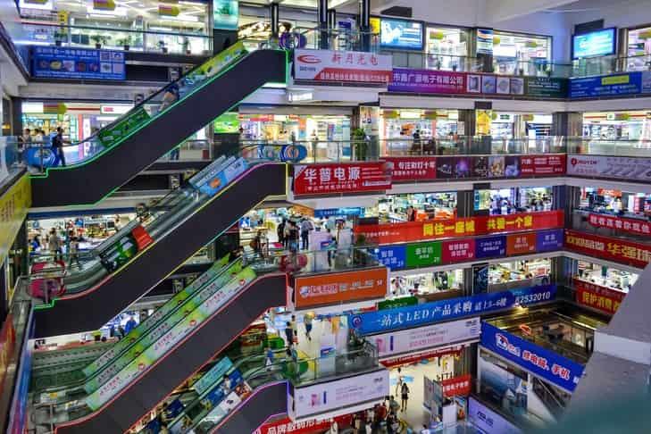 Marché de gros de Guangzhou