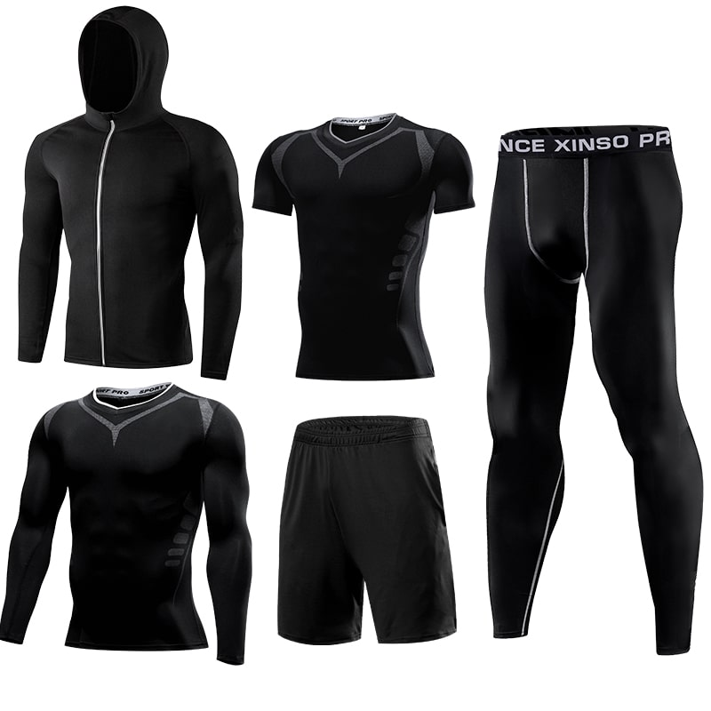 5 pieces sportswear mens OEM