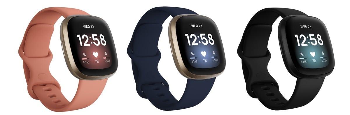 Fitbit Versa 3 montre connectée