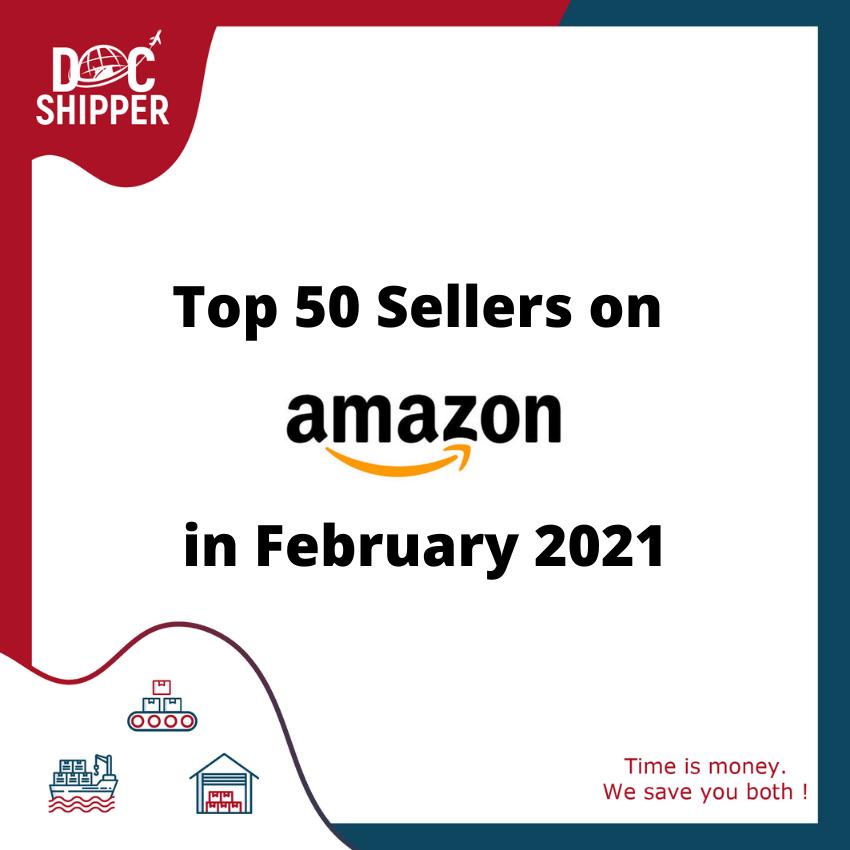TOP 50 Amazon Febuary 2021