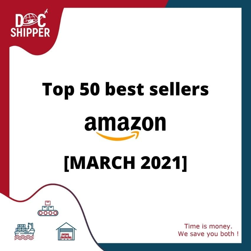 Top 50 best sellers Amazon [MARCH 2021]
