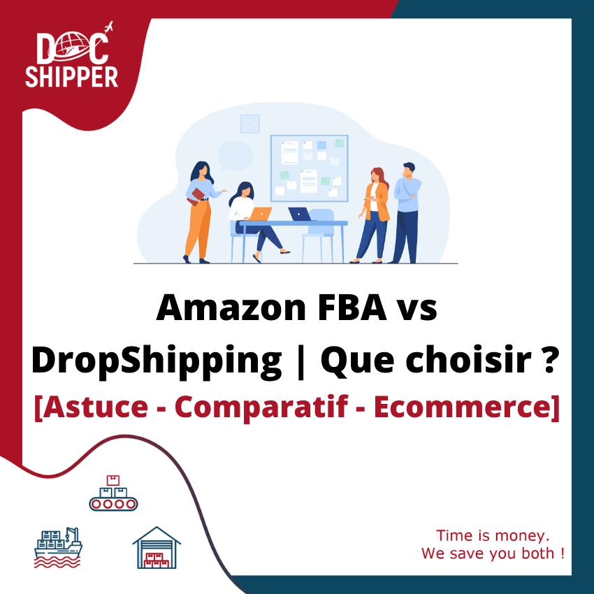 amazon FBA vs Dropshipping